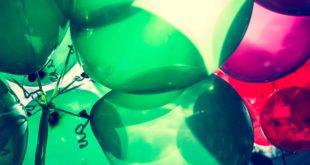 בלונים ירוקים